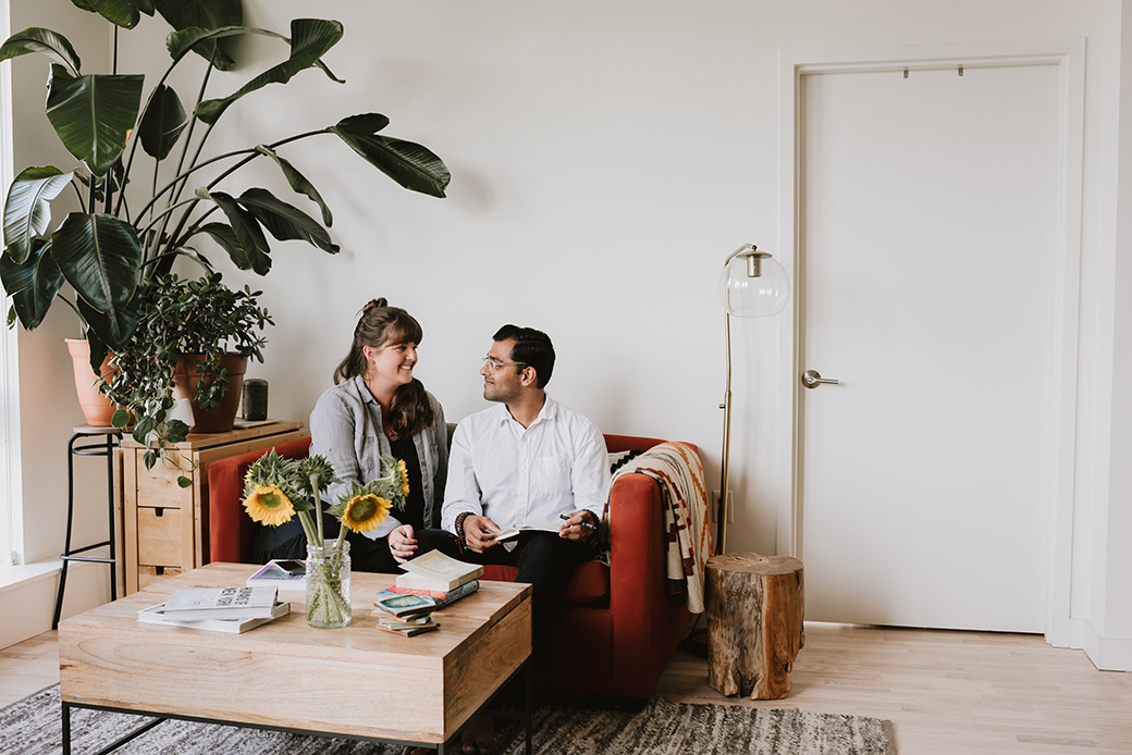 indoor engagement session