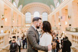 Grand Central wedding elopement