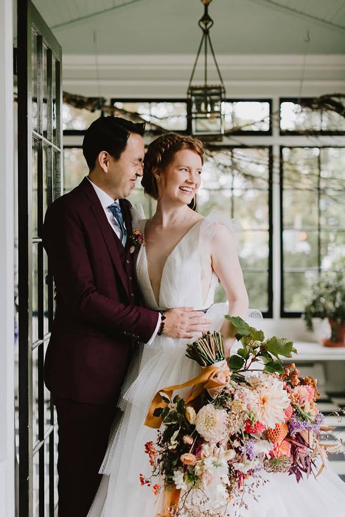 Portland wedding couple