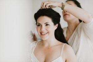 Ruschmeyer Hotel bride getting ready