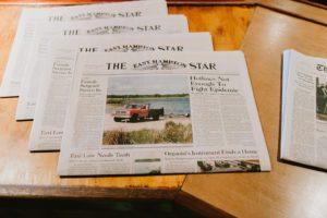 Ruschmeyer Hotel newspaper details