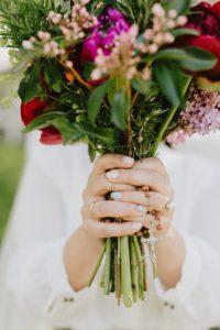 Ruschmeyer Hotel Montauk wedding flowers