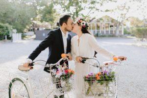 Ruschmeyer Hotel Montauk wedding bike riding