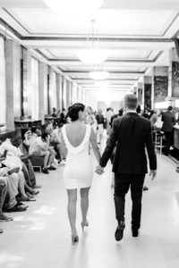 City Clerk NYC wedding couple
