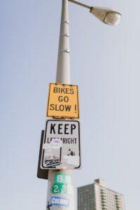 Brooklyn bridge signs