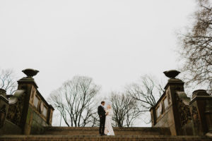 Bethesda fountain wedding