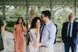 Ladies Pavilion wedding celebration