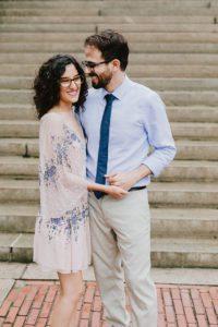 Bethesda fountain couple