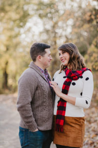 Brooklyn engaged couple