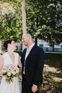 City Clerk NYC bride and groom