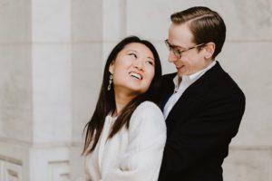NYPL engaged couple
