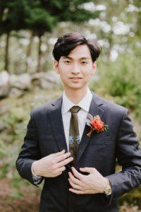 MIT Endicott House groom