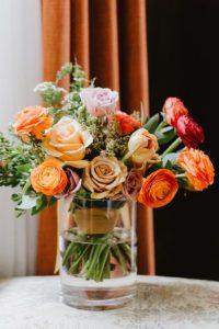 MIT Endicott House flowers