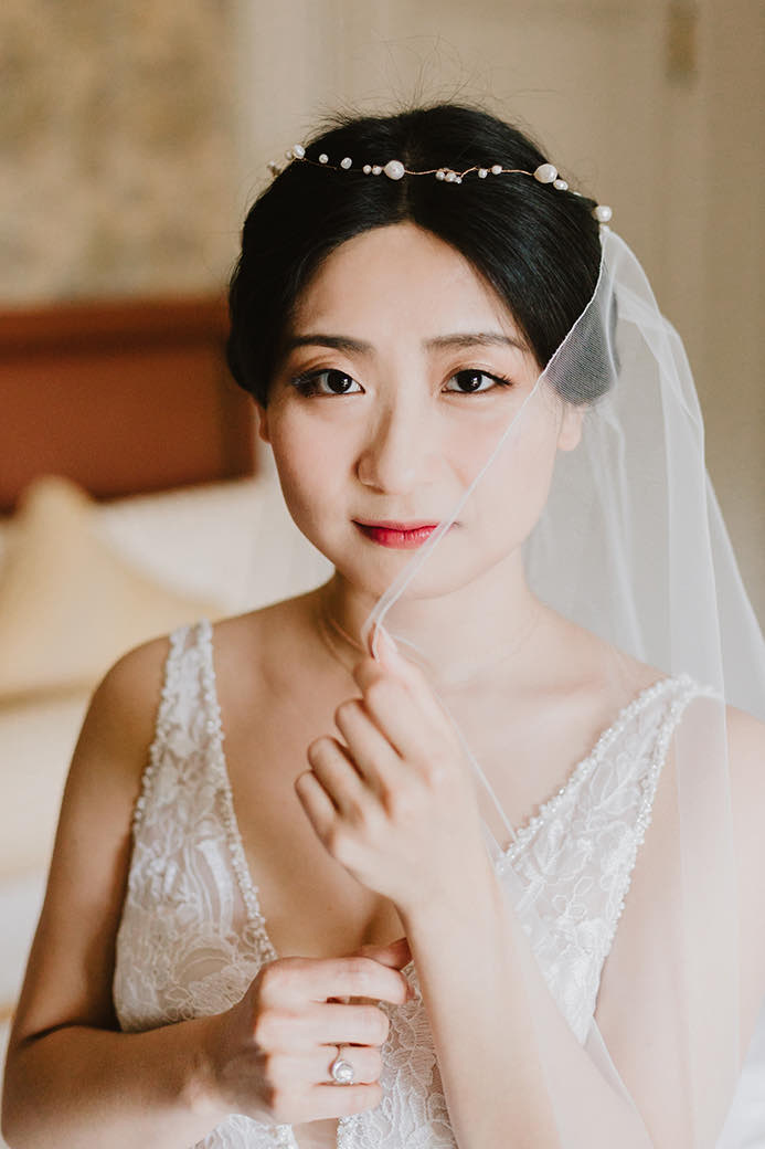 boston bridal veil