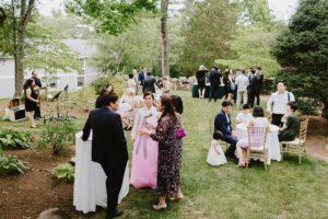 MIT Endicott House wedding guests