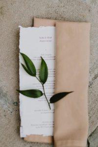 MIT Endicott House wedding invitation