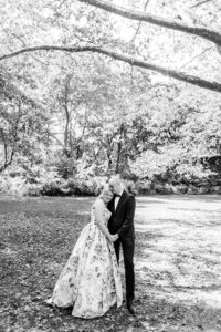 Central Park Bride and groom