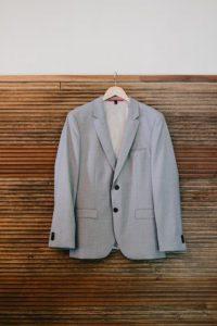 Roundhouse Beacon NYC groom jacket