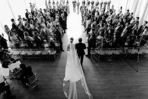 Roundhouse Beacon NYC wedding ceremony