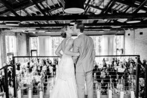 Roundhouse Beacon NYC couple entering reception