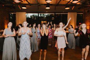 NYC Wedding exit