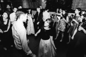 LA wedding dance floor