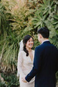 SmogShoppe LA groom and bride