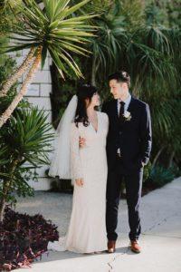 SmogShoppe LA bride and groom