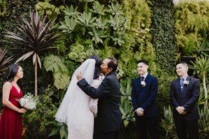 SmogShoppe LA wedding ceremony